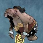 Wonder Woman Manatee