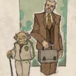 Yoda and Kenobi
