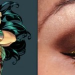 wonder woman eye