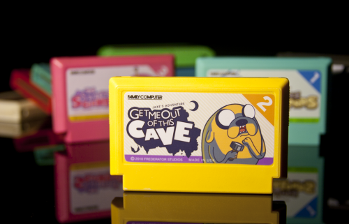 Adventure Time Famicom carts by Nightmare Bruce image 2