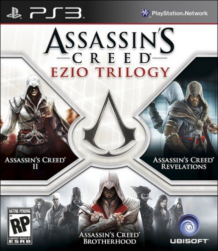 Assassin's Creed Ezio Trilogy PS3 box image