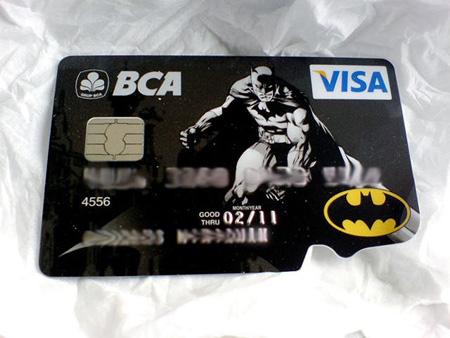 Batman Credit Card