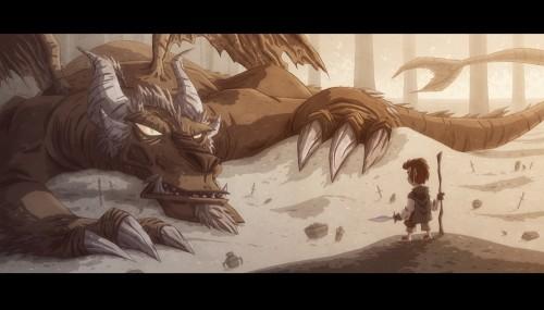 Bilbo Smaug - Walyou