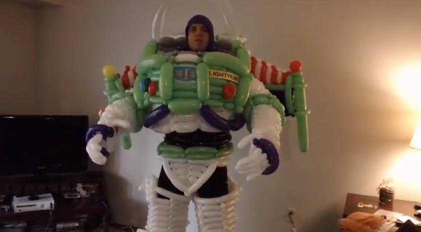 Buzz Lightyear Balloon Suit