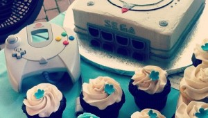 Dreamcast cake by Rebecca Sugar