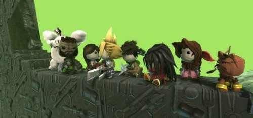 Final Fantasy VII LittleBigPlanet cast Image