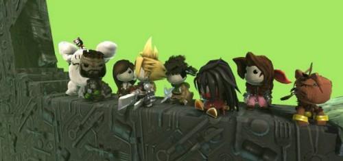 Final Fantasy VII LittleBigPlanet cast Image