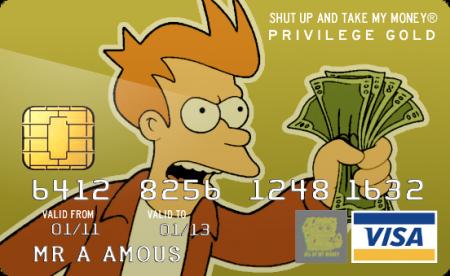 Fry Credit Card