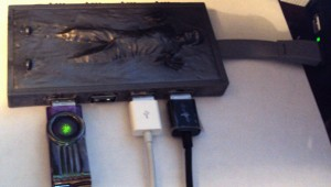 Han Solo Frozen Carbonite USB Hub 1