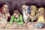 Hobbit Last Supper
