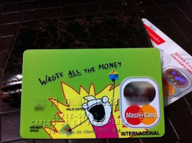 Hyperbole And Half Credit Card