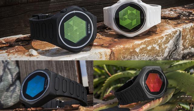 Kisai Quasar Silicone LCD Watch