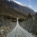 Langtang Valley bridge
