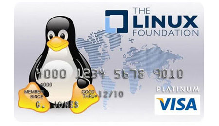Linux Credit Card