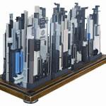Metropolis computer model