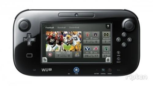 Nintendo TVii Wii U football image
