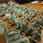 Origami bills 3