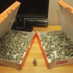 Origami bills 6