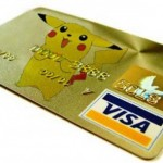 Pikachu Credit Card