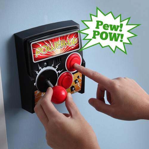 Power-Up Arcade Light Switch Plate Image 1