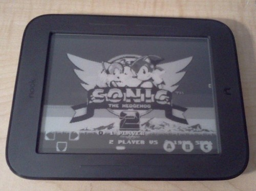 Sega Genesis Nook Simple Touch image