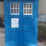 TARDIS Shower