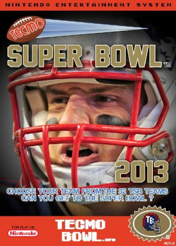 Tecmo Super Bowl 2013 box image