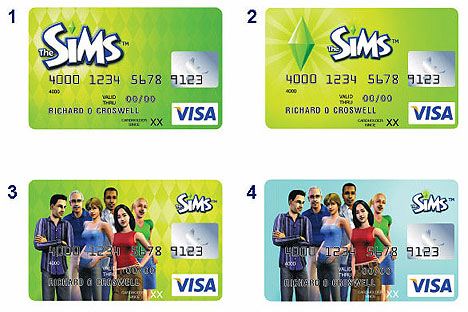 The Sims Credit Card