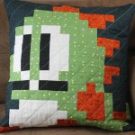 Bubble Bobble Pillow Cover