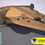 Full Size Millennium Falcon 1