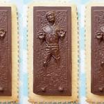 Han Solo Carbonite Cookies