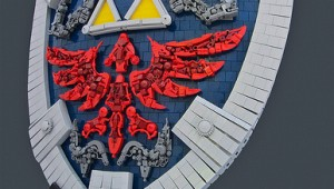 LEGO The Legend of Zelda Twilight Princess sheild by Bolt of Blue image 1