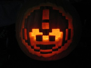 Mega Man Pumpkinby by MGPerez