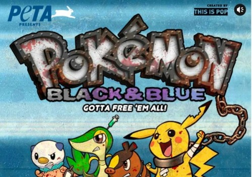 Pokemon Black and Blue PETA start image