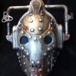 Steampunk Cyberman Helmet 1