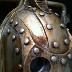 Steampunk Cyberman Helmet 2