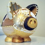 Steampunk Piggy Bank