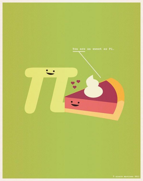 Sweet as Pi
