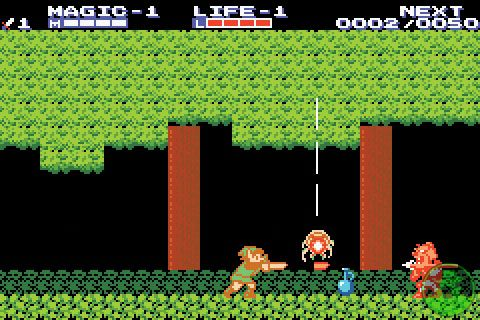 Zelda II NES image