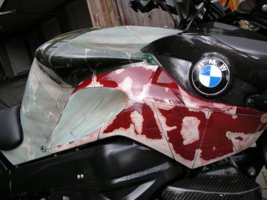 bobba fett bike chassis