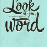 hanging on your every word