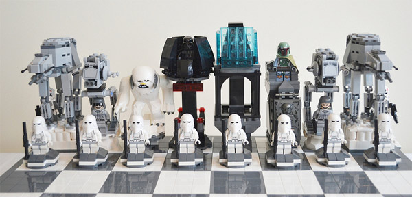 Lego Star Wars Chess Set Empire