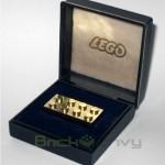 14k Solid Gold LEGO Brick