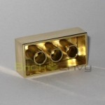 14k Solid Gold LEGO Brick 2