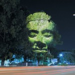 3D Projections of Deities Onto Trees