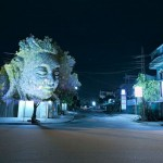 3D Projections of Deities Onto Trees 4