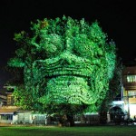 3D Projections of Deities Onto Trees 5