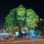 3D Projections of Deities Onto Trees 6