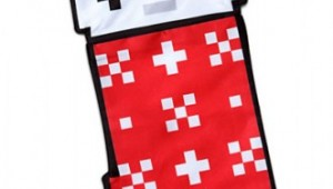 8-Bit Christmas Stocking From ThinkGeek image 1