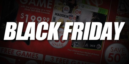 Black Friday video games image